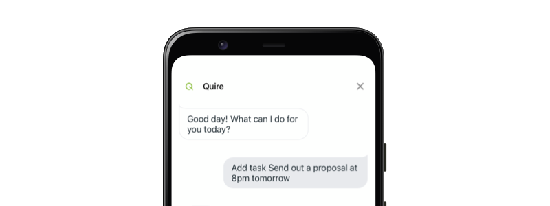 Quire for Google Assistant