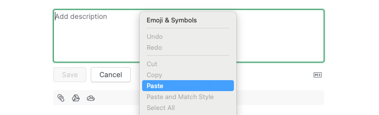paste image in the description