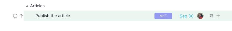 inline assign